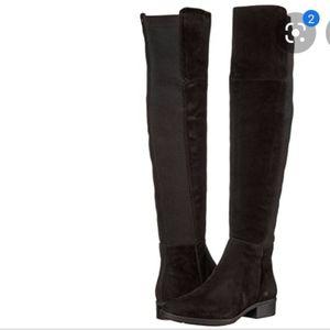 Sam Edelman Pam black suede boots
